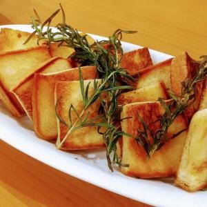 🐭ハーブ香るガーリックトーストの簡単作り方・レシピ