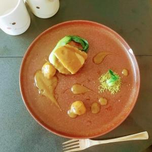 豚バラブロックと栗のバルサミコ煮込みの作り方・🐭シェフの簡単レシピ