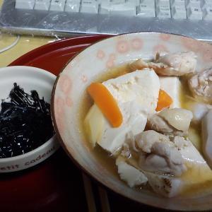 家庭内BBQ、鶏水炊き鍋