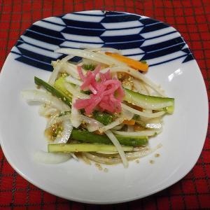血液サラサラ、タマネギサラダ