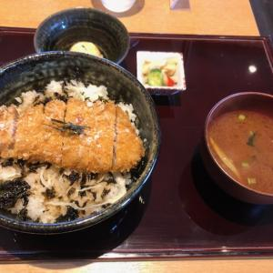 塩かつ丼!「とんかつ葉月」ランチ 弥富市