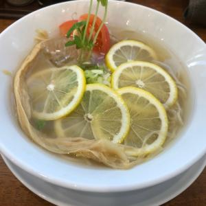安吾(あんご)食欲がない夏におすすめラーメン 夏季限定 レモン冷麺!弥富市