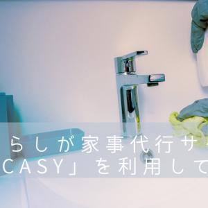 CaSy(カジー)で水回りの掃除家事代行を頼んでみた感想