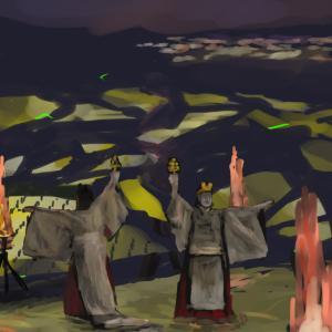 棚田の奇祭