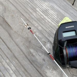 釣りのとき、予備の竿とリールはあったほうがいいですね