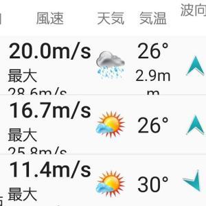 台風の季節、今年は何回中止になるでしょうか
