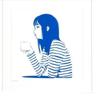 【9/1(火)まで抽選】DADA BLUE SILK SCREEN