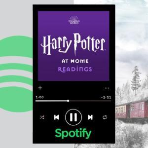 【Spotify】無料でハリーポッター1巻のオーディオブックが聴ける!