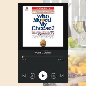 英語の『チーズはどこへ消えた?』はビジネス書1冊目のオーディオブックにおすすめ!