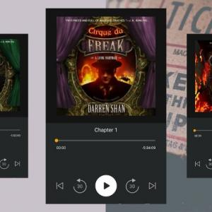 『ダレン・シャン』のオーディオブックが全巻英語で聴き放題なのはUS版のAudible