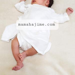 11月生まれベビー、新生児時期に着せたもの