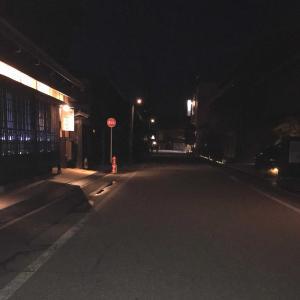 夜の街を徘徊す 🌠