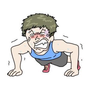 【筋肉】腕立て伏せって運動してない普通の人でも30回くらいはできる?
