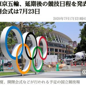 東京オリンピックはもう観れないだろうから!