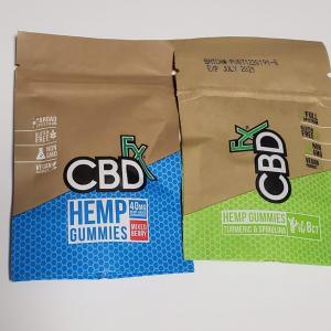 CBDfx グミ 原材料 着色料や添加物が気になるので徹底調査!