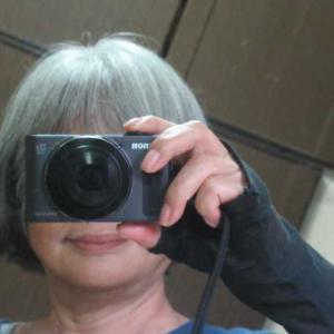ばばのドアップ写真 髪の毛切りました