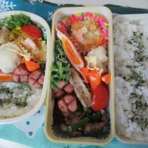 あーちゃんの会社訪問送り迎え ☆牛肉炒め弁当☆