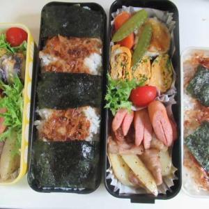 ジャガイモを収穫して食べて・・・満足(^_^)v ☆のり弁☆