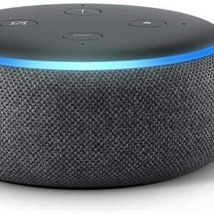 AmazonでEcho Dot (エコードット)第3世代 スマートスピーカーが50%OFFの2,980円で購入可能!時計付きは3,980円!(20/7/26まで)