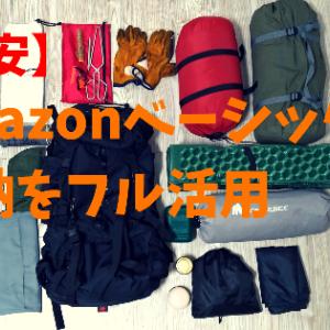 【激安】amazonベーシックバックパックに荷物はどれくらい入る?検証してみた