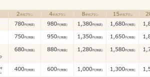 IIJが20ギガで1880円のプラン