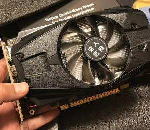 "GeForce GTX1050Ti搭載のグラフィックボードが""新発売""で、お値段は2万円超"