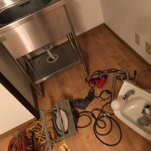 DIYで2階にキッチンを取り付ける方法(準備編)①