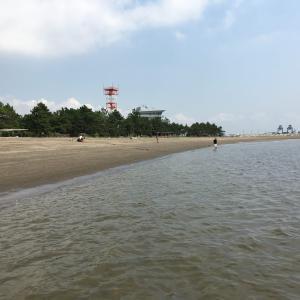 東京の『寝かせてくれない砂浜』に行ってきました。w