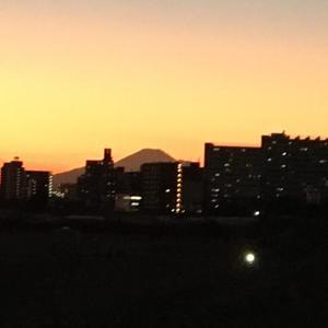 大田区から見えた富士山に感動!でも◯◯にびっくり!w