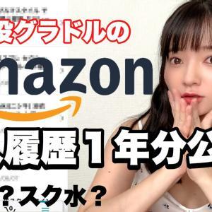 【西永彩奈】【公開】現役グラドルのAmazon購入履歴!1年分!