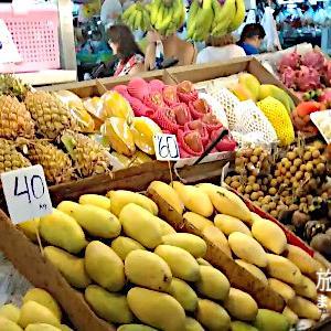 ロックダウン直前のタイへ旅行した~バンザーン生鮮市場ナイトマーケット