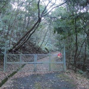 禅定寺山へ栄山公園コースで