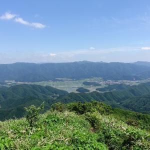 十種ヶ峰の大パノラマ