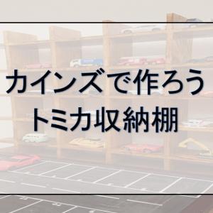 【ズボラでも作れる】トミカ収納棚【おしゃれ!】