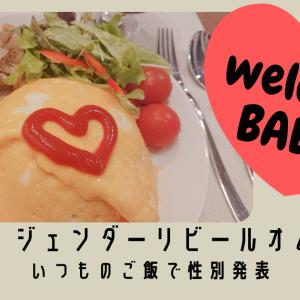 超簡単!ジェンダーリビールオムライス手作り いつものご飯で性別発表!
