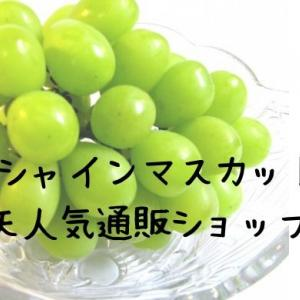 楽天の「シャインマスカット」人気通販ショップ3選!口コミ調査!