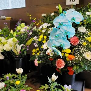 花国恒例お盆の花! たくさんお花が入荷しました!