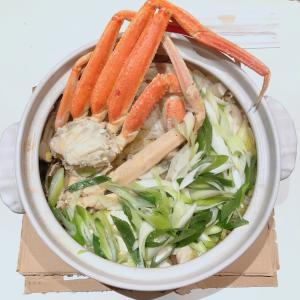 【ごちそうレシピ】【和食】締めまでしっかりカニ鍋【お取り寄せ】【海鮮】