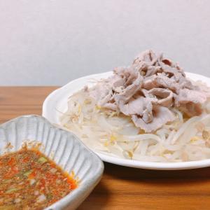 【簡単レシピ】【和食】中華風豚しゃぶ【豚小間】【もやし】