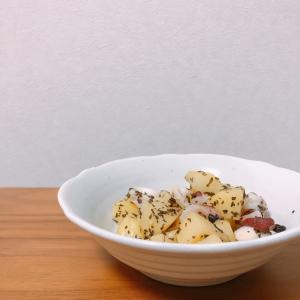【簡単レシピ】【イタリアン】たことじゃがいものガーリック炒め【疲労回復】【おつまみ】