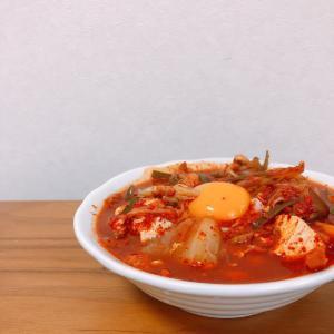 【簡単レシピ】【韓国料理】地獄の激辛スンドゥブチゲ【アレンジ】【注意】