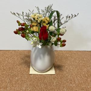 今週のお花と神通力は健在