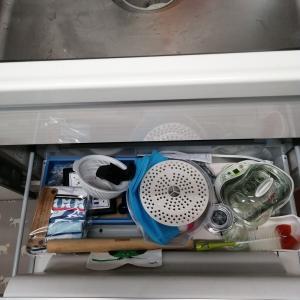 キッチンの不用品