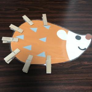 洗濯バサミ遊び♪型紙なしイラストだけでOK!手作りおもちゃの作り方