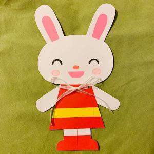 リボン結び練習用のおもちゃを手作り♪子供も大好きウサギさんの作り方