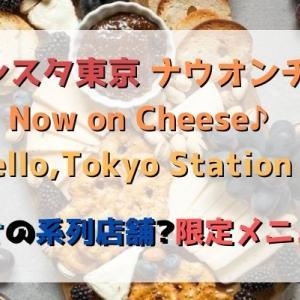 グランスタ東京のナウオンチーズはルタオの系列店舗?メニューも紹介!