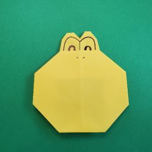 マリオの折り紙|ノコノコ・ヨッシーの折り方★簡単でかわいい作り方を紹介!
