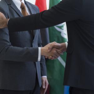 安倍首相とモリソン首相のヴァーチャル会談