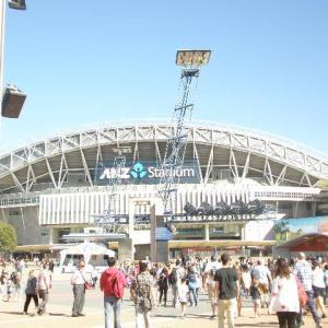 ANZスタジアムに行ってみよう!
