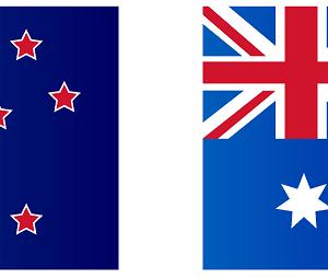 NZからの第一便がついにシドニーに到着!